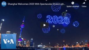 Drohnen in Shanghai