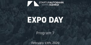 STARTUP AUTOBAHN Plug & Play EXPO Day Program 7
