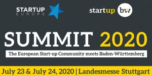 Startup Europe & Start-up BW Summit 2020 in Stuttgart
