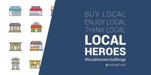 #localheroeschallenge - Mit der Local Heroes Challenge lokale Unternehmen unterstützen