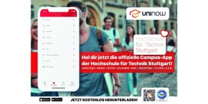 Neue Campus-App der HFT Stuttgart