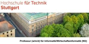 Professur (w/m/d) für Informatik/Wirtschaftsinformatik (W2)