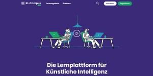 KI-Campus - Lernplattform für Künstliche Intelligenz