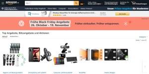Amazon: Sonderangebote im Vorfeld des Black Friday und Cyber Monday