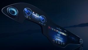 MBUX Hyperscreen (Quelle: Daimler AG)