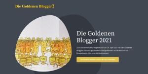 Die Goldenen Blogger 2021