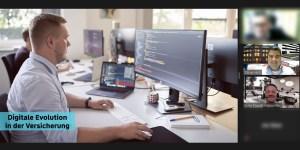 Digitale Evolution in der Versicherung - Sven Tippelt, CTO von Adam Riese zu Gast an der HFT Stuttgart