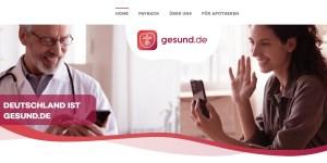 Gesund.de (Screenshot 3.5.2021)