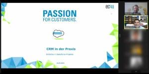 CRM-/Salesforce-Experte Wingbermühle (ec4u) erneut zu Gast an der HFT Stuttgart