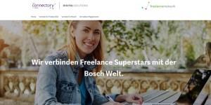 freelancernetwork - Bosch und ITK Engineering gründen neues Vermittlungsportal