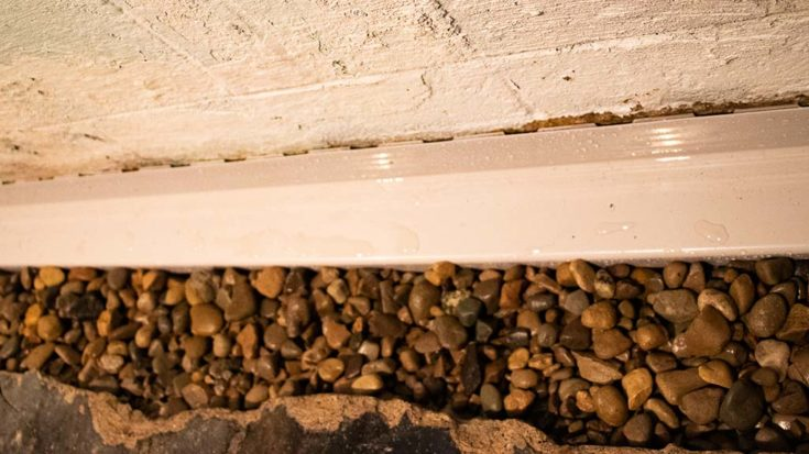 maintain your interior drainage system