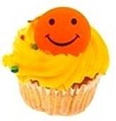 Smiley-Face-Cupcake