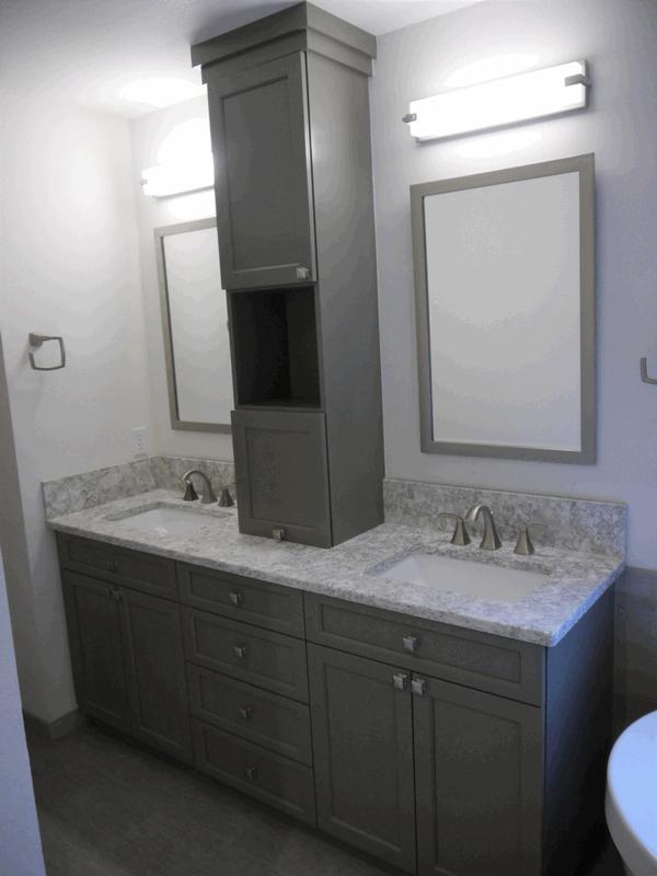 Seattle Modern Bathroom Remodel | Innovative Kitchen & Bath on Modern Small Bathroom Remodel  id=70661