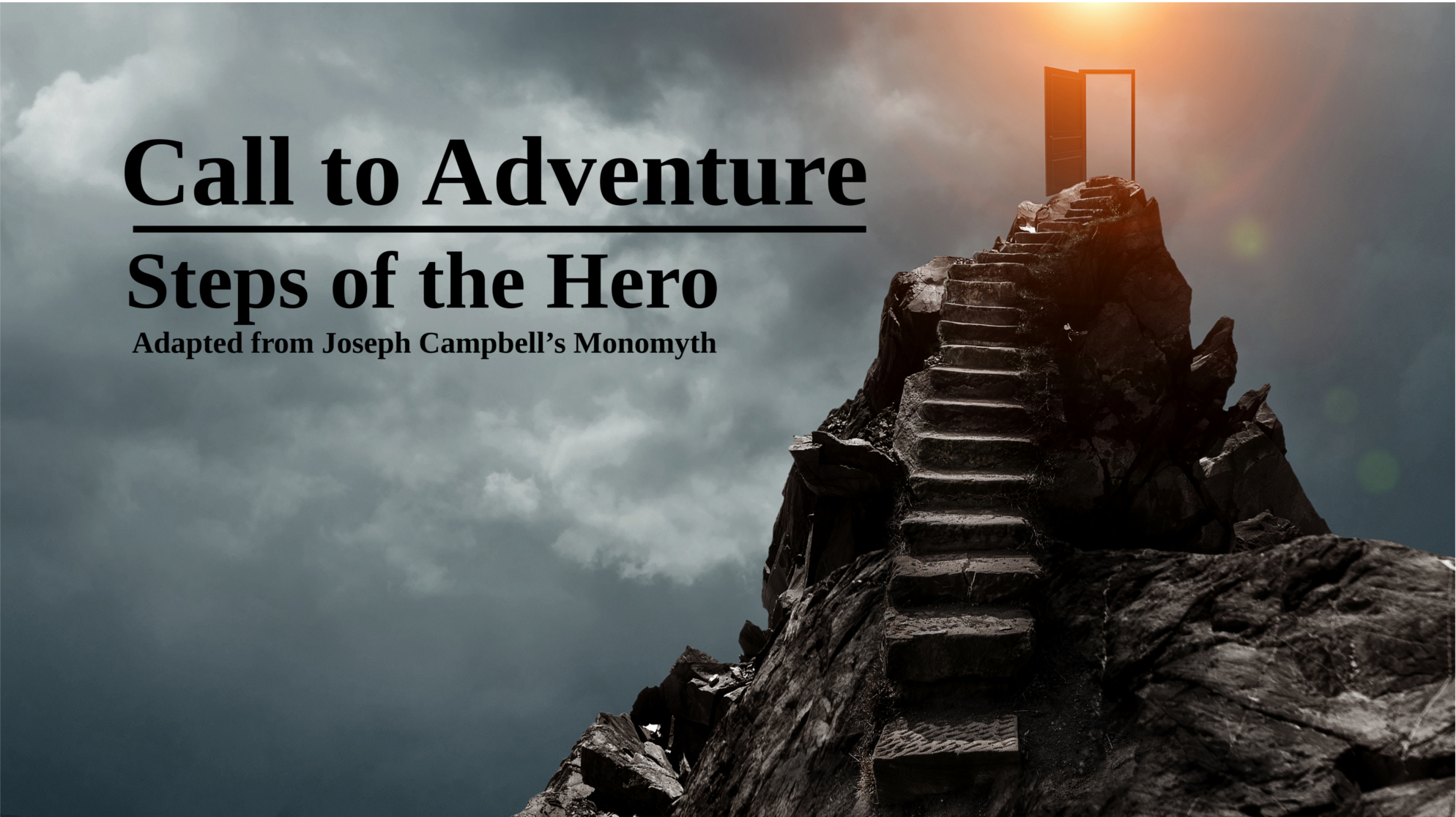 Innovative Literacy - Call to Adventure - Steps of the Hero's Journey - How to Write a Novel Using Character Archetypes