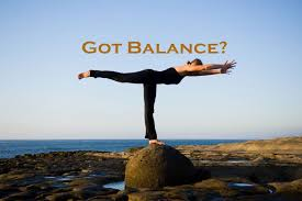 Balance! Use It or Lose It!