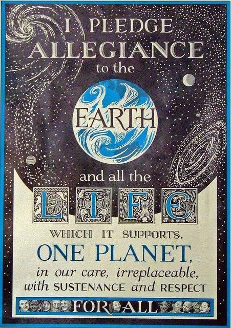 Pledge Allegiance to Earth