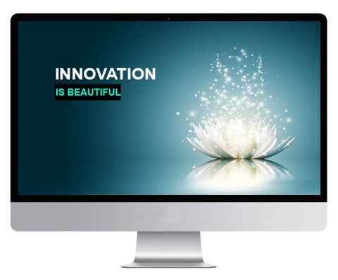 Computer Screen - Innovation is Beautiful