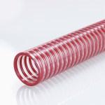 Une âme en spirale structure le tuyau et permet sa flexion.
