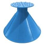 Cette raclette pare-brise Ice Craper est de forme conique. Elle devient multi-directionnelle et plus efficace.
