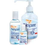 Le gel anti-septique Nexcare de 3M s'évapore lorsque l'on se frotte les mains, ce qui évite de les essuyer par la suite.
