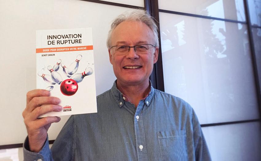 Interview de Benoît Sarazin spécialiste de  l'innovation de rupture