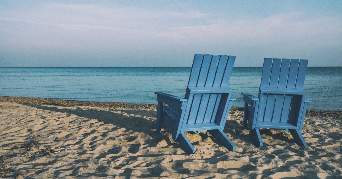 playa, arena, silla azul, barú, playas de barú, tranquilidad, Innovo te lleva a Barú