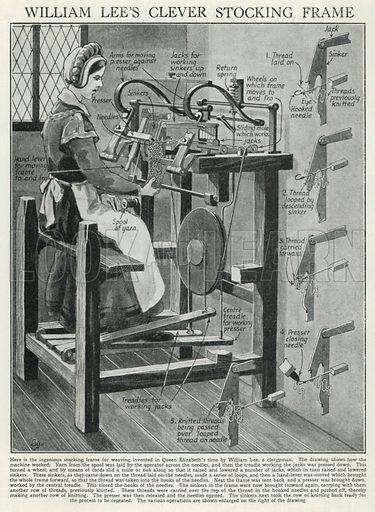 Stocking Frame (Mechanical Knitter)