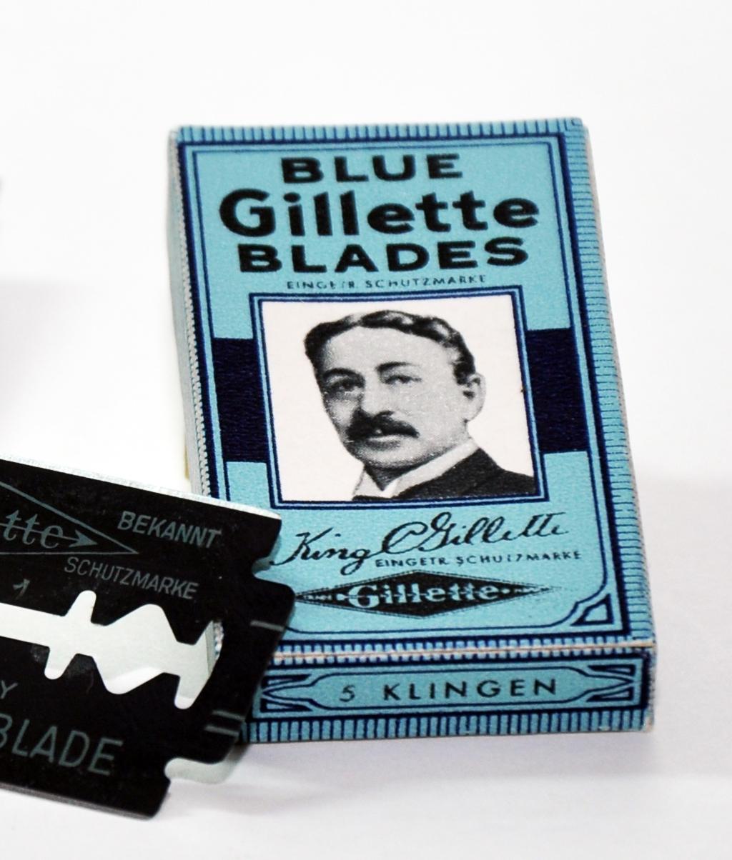 King Camp Gillette's Razor Blade Business Model