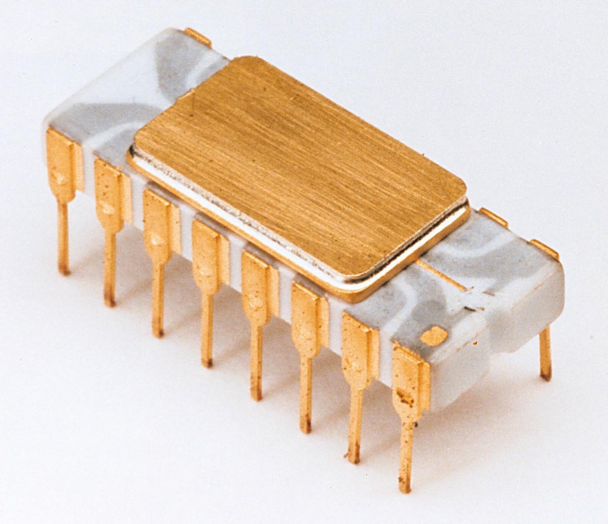 Ted Hoff's General Purpose Microprocessor