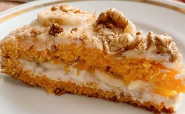 Морковный торт самый простой и вкусный рецепт с фото пошагово