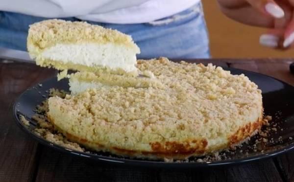 Пирог королевская ватрушка с творогом рецепт с фото пошагово