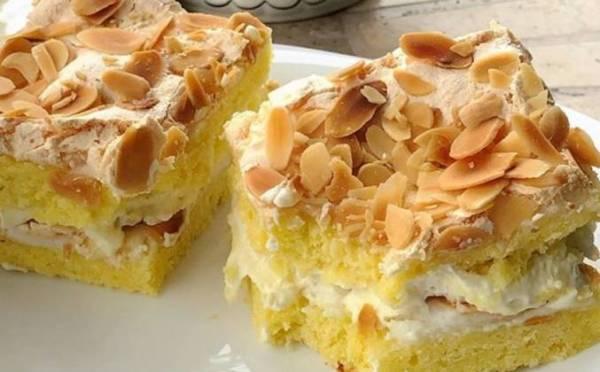 Вкусный торт из желтков с заварным кремом рецепт с фото ...