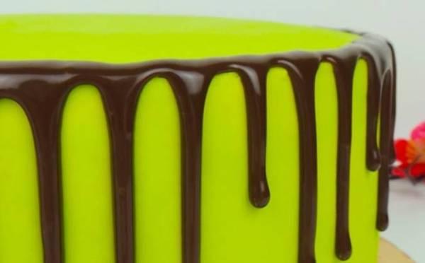 Как сделать шоколадные подтеки на торте рецепт с фото пошагово