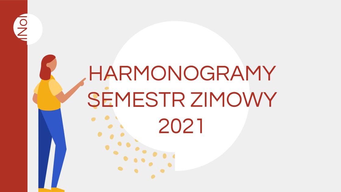 Harmonogramy – studia stacjonarne
