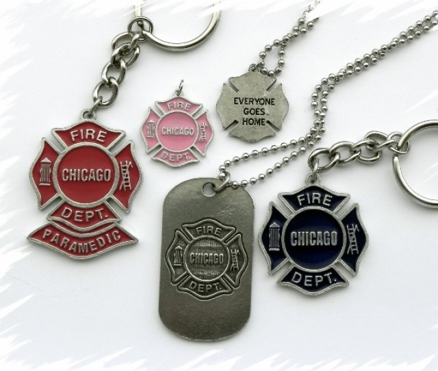 Chicago Fire Department Custom Dog Tags