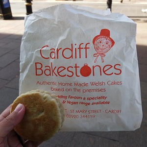 Welsh cakes by Cardiff Bakestones