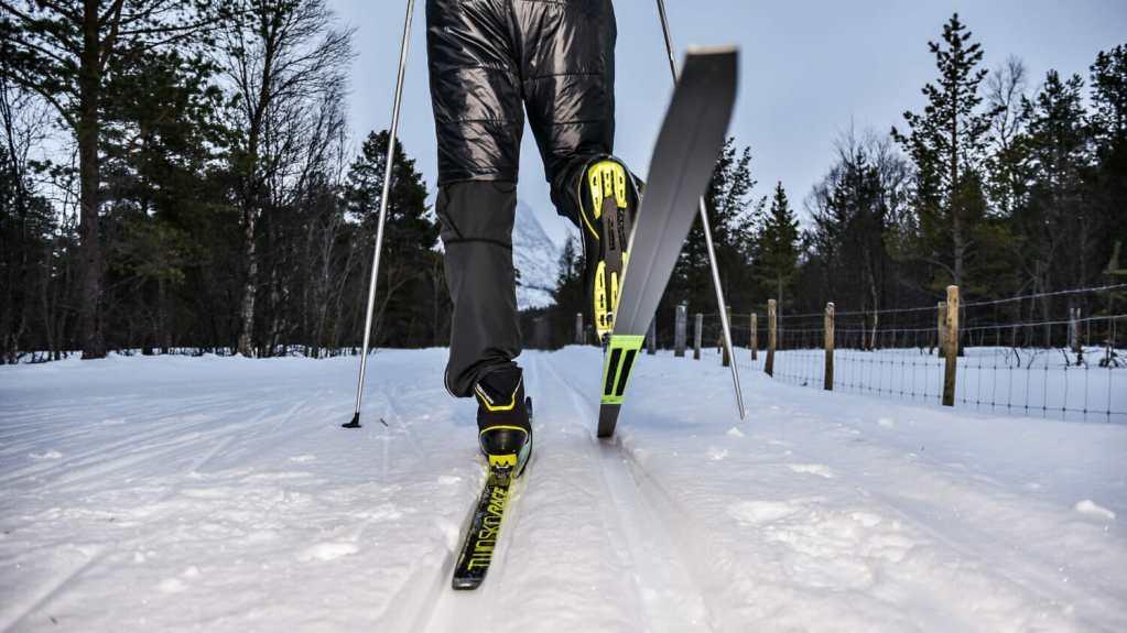 Vintersport målrette annonser vinter ski