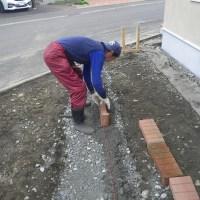 ブロック敷設