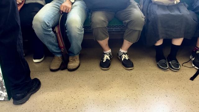 通勤電車内は●●をトレーニングするところ