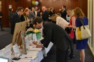 The silent auction was a huge success during the evening.