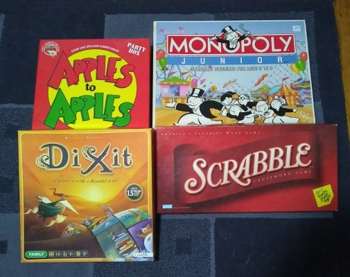 Great board games that encourage reading...and imagination