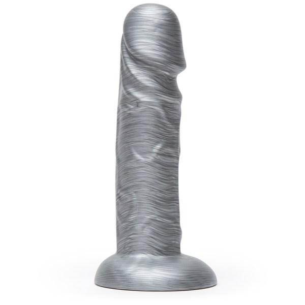 Lovehoney Time to Shine Realistic Silver Dildo 6 Inch