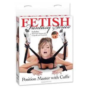 Fetish Fantasy Sex Position Master with Restraint Cuffs