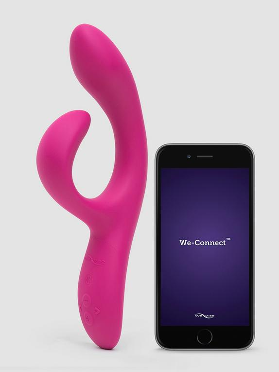 We-Vibe Nova 2 Rechargeable App Controlled Rabbit Vibrator