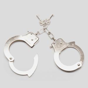 Bondage Boutique Silver Handcuffs
