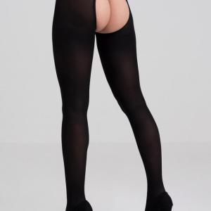 Fifty Shades of Grey Captivate Black Spanking Pantyhose