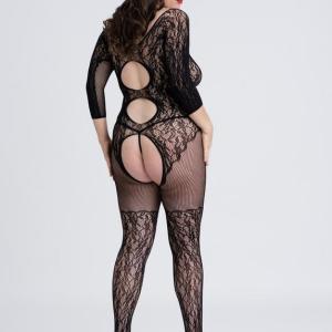 Fifty Shades of Grey Captivate Plus Size Lace Spanking Bodystocking