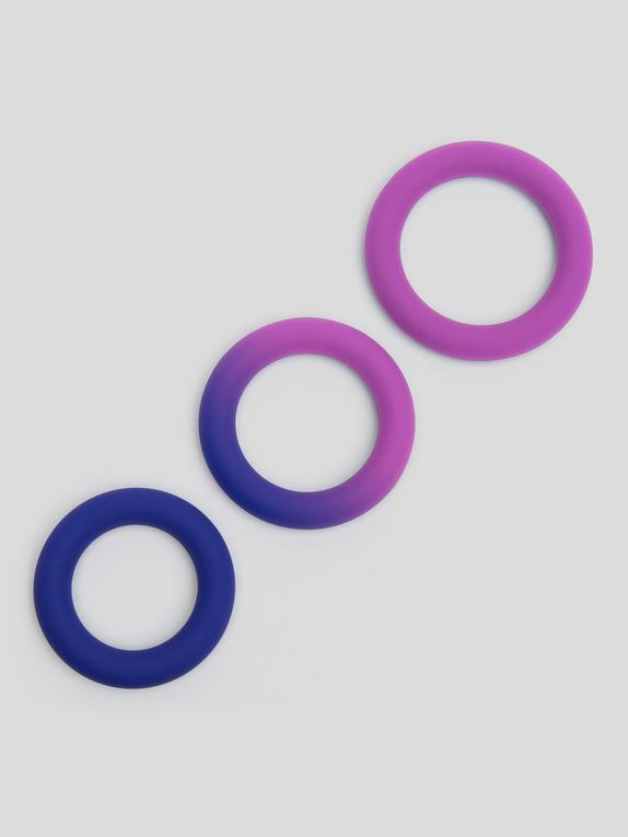 Lovehoney Colorplay Color-Changing Silicone Cock Ring Set (3 Count)