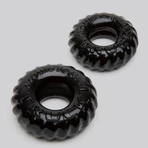 Oxballs Cock Ring and Ball Ring Set (2 Count)