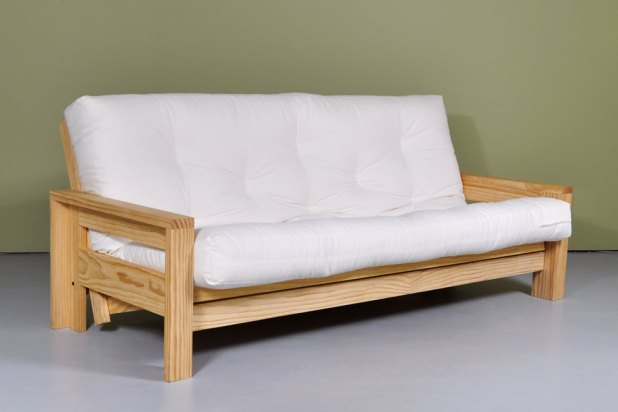 Wooden Frame Double Sofa Bed Okaycreationsnet